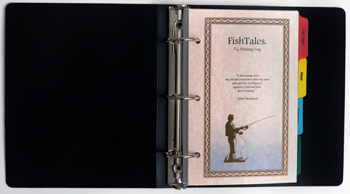 FishTales Lady Anglers Fly Fishing Log Book - Capture your favorite fishing memory.
