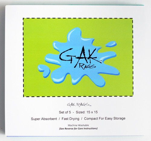 GAK Rags super absorbent fast drying fishing shammy