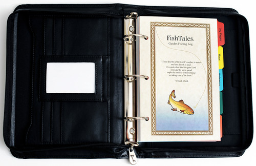 FishTales Guides Fishing Log Book - a guides secret weapon for putting your client on the fish.