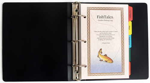 FishTales Guides Poly Fishing Log Book - a fishing guide's secret weapon for finding the fish.