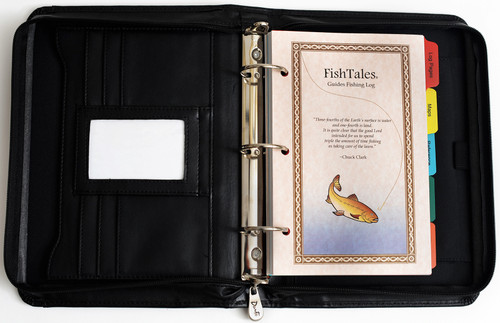 FishTales Lady Guides Fishing Log Book track and record your fishing experiences to help you consistently find the fish.