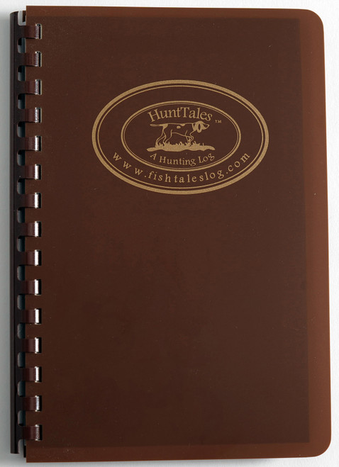 HuntTales Hunting Log Book - handsome - durable - easy to use!