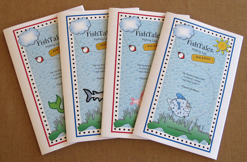 FishTales Kids Fishing Logs easy and fun to use!