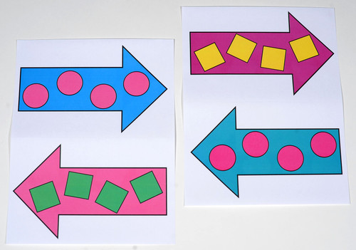 Plenty of additional colorful arrows to scatter eye catching garage sale signs everywhere!