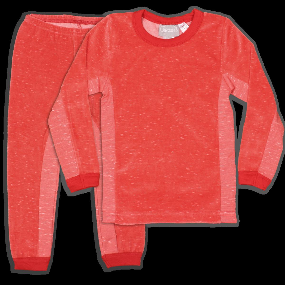 Coccoli Velour | Pyjama | 2y-12y | TLV4704-166