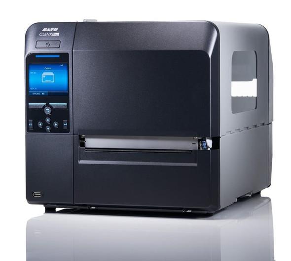 Izquierda WWCLPA001 Impresora de Codigos de Barra Sato CL608NX PLUS 203 dpi