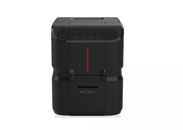 PR00300002 Impresora de Credenciales Matica MC310 - Duplex - Imagen Frontal Impresora