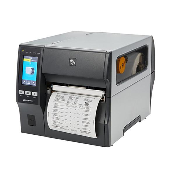 ZT42162-T4A0000Z Impresora Industrial Zebra ZT421 203dpi Pelador - Rebobinador en Proceso de Impresion