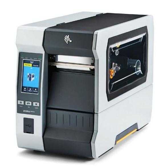 ZT61043-T0102C0Z Impresora Industrial RFID Zebra ZT610 300dpi Pantalla Tactil Lateral Izquierdo
