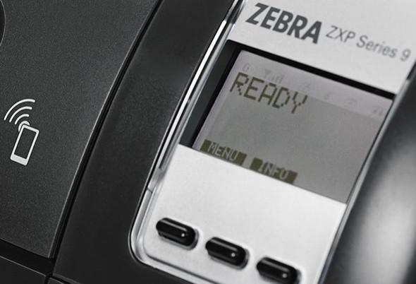 Z92-000C0000BR00 Impresora Zebra ZXP SERIES 9 Dual Laminador Display