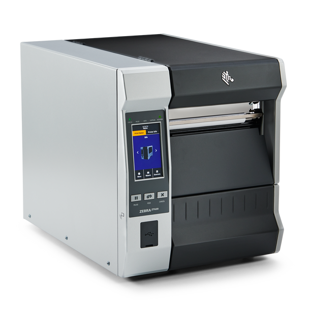 ZT62062-T01C100Z Impresora Industrial Zebra ZT620 203dpi - WiFi Opcional Lateral Derecho Pantalla Tactil