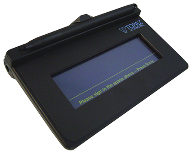 Pad Digitalizador de Firmas Topaz TS460 T S460 BT2 R (T-S460-BT2-R)
