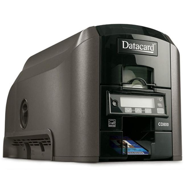 Impresora CD800 Duplex Vista Lateral