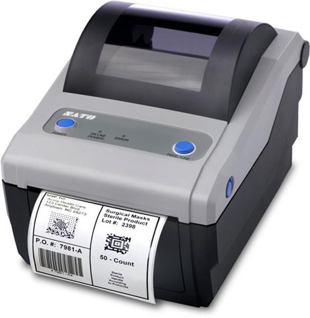 WWCG08031 Impresora de Escritorio SATO CG408 DT - RS232C Serial - USB