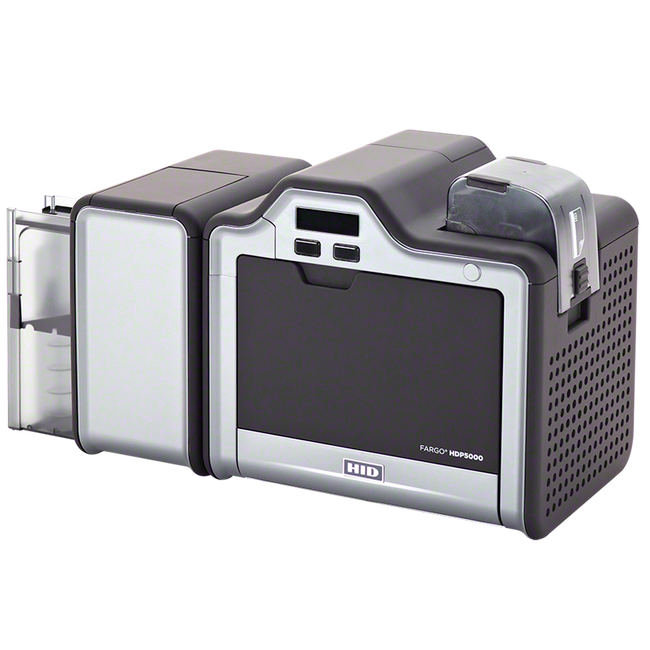 Impresora de Tarjetas de PVC Fargo HDP5000 iClass SmartCard & MSW ISO Lector Prox HID Simplex 89610