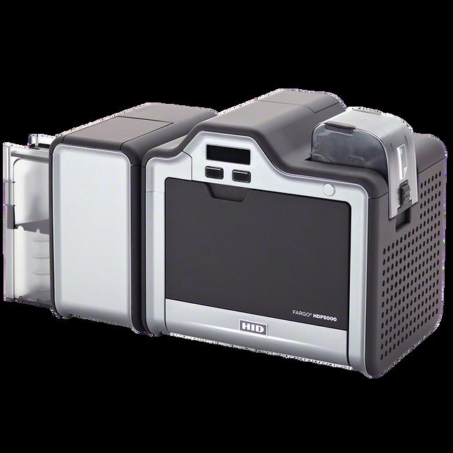 Impresora de Tarjetas de PVC Fargo HDP5000 iClass SmartCard & MSW ISO Lector Prox HID Simplex Single Side Lamination 89630