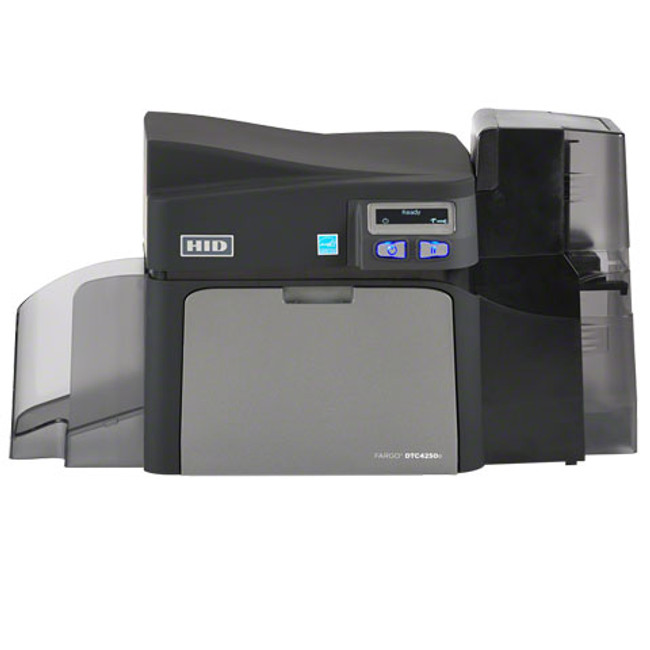 Impresora Fargo DTC4250e Duplex Codificador de Tarjetas Inteligentes Omnikey & ISO MSW USB ETHERNET 52118