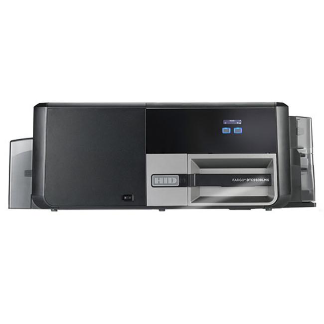 56306 Impresora de Tarjetas de Identificacion Duplex Fargo DTC5500LMX ISO MSW