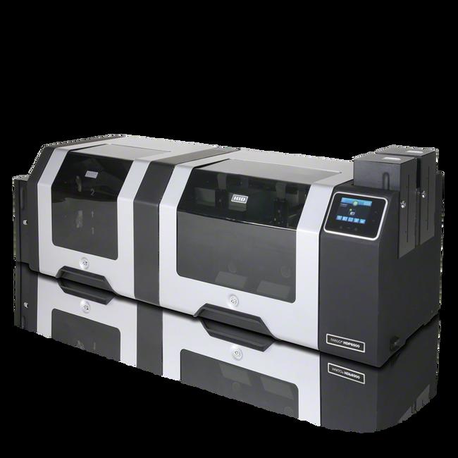 88552 Impresora de Tarjetas ID Fargo HDP8500 Smart Card Omnikey 5121 con Aplanador Duplex USB ETHERNET