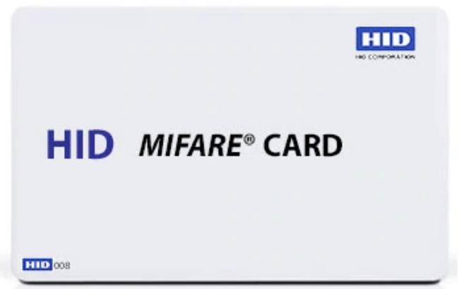 HID 1451 MIFARE Contactless Tarjeta Inteligente EV1 & Proximity 8K bit Memoria con Sistema de Archivos Flexible