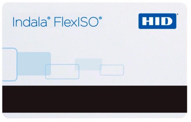 FPISO-SSSCNC-0000 HID Tarjeta Indala FlexISO 30 Programada Con Banda Magnetica