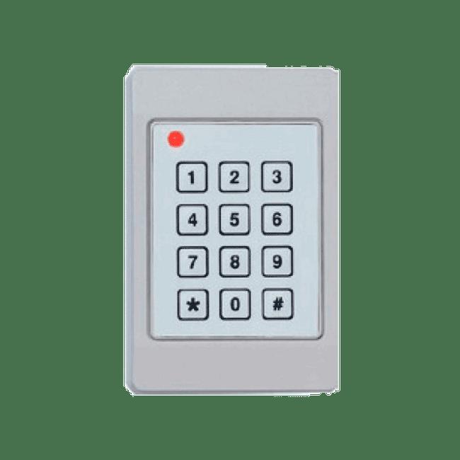 FP5061B/L Lector de Credenciales INDALA FlexPass con Teclado Numerico ARK-501 8Bits Corto Alcance Con Cable