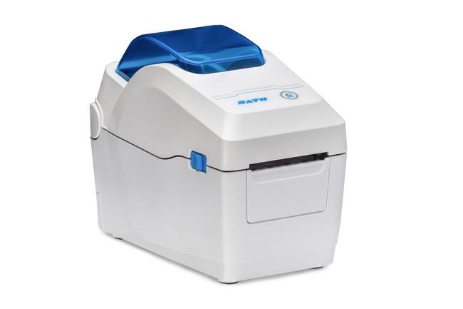 W2312-400DB-EX1 Impresora de Etiquetas WS212 300dpi Uso Clinico - Bluetooth-Dispensador Lateral Derecha