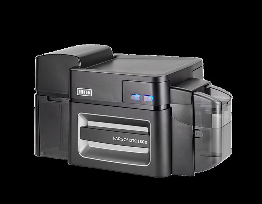 51408 Impresora de Tarjetas PVC Fargo DTC1500 Duplex USB ETHERNET HID Prox Smart Card iCLASS Omnikey 5121 & 5125