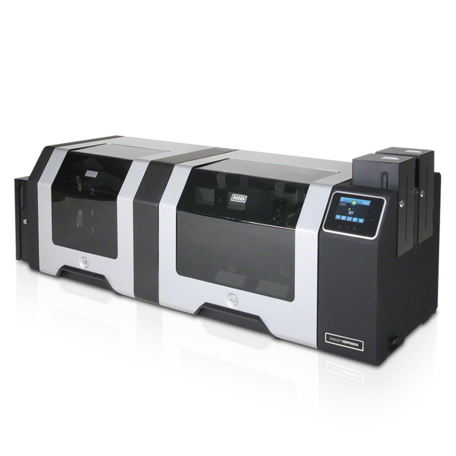 88521 Impresora de Tarjetas ID Fargo HDP8500 Smart Card Omnikey 5121 & HID Prox Omnikey 5125 Duplex USB ETHERNET