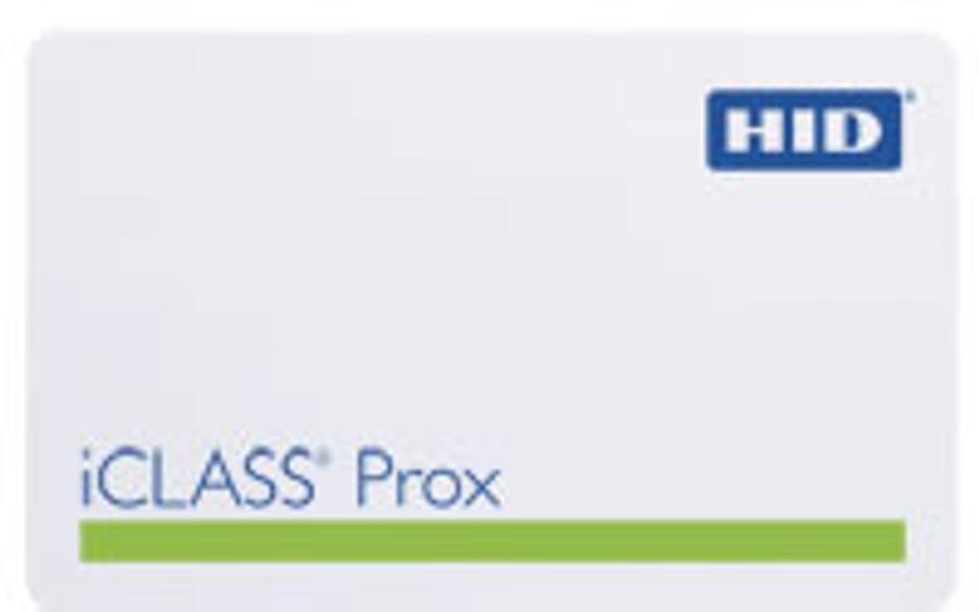 2023BGGMNN Tarjeta Control de Acceso Proximidad iCLASS Contactless 32K bit HID