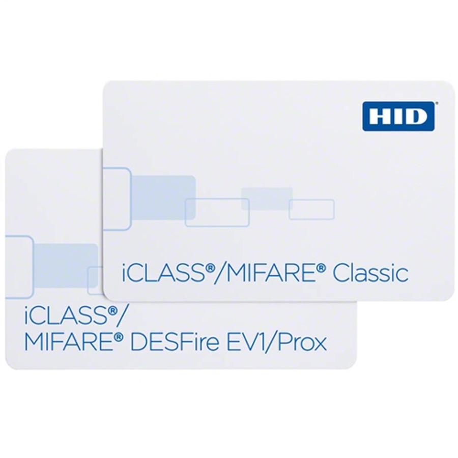 HID 2623(EV1) iClass 32K & MIFARE 8K Classic con Sistema de Archivos Flexible Prox