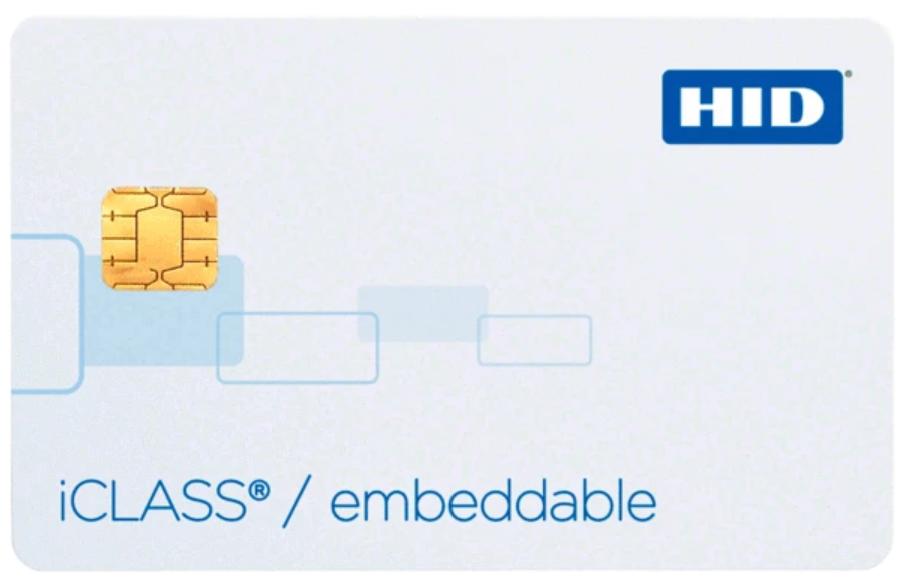 2114 HID Tarjeta Inteligente iCLASS Sin Contacto 32Kbit con 2 Areas de Aplicacion