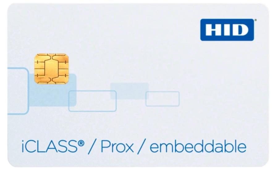 2134 HID Tarjeta Inteligente iCLASS/PROX Sin Contacto 32Kbit con 2 Areas de Aplicacion