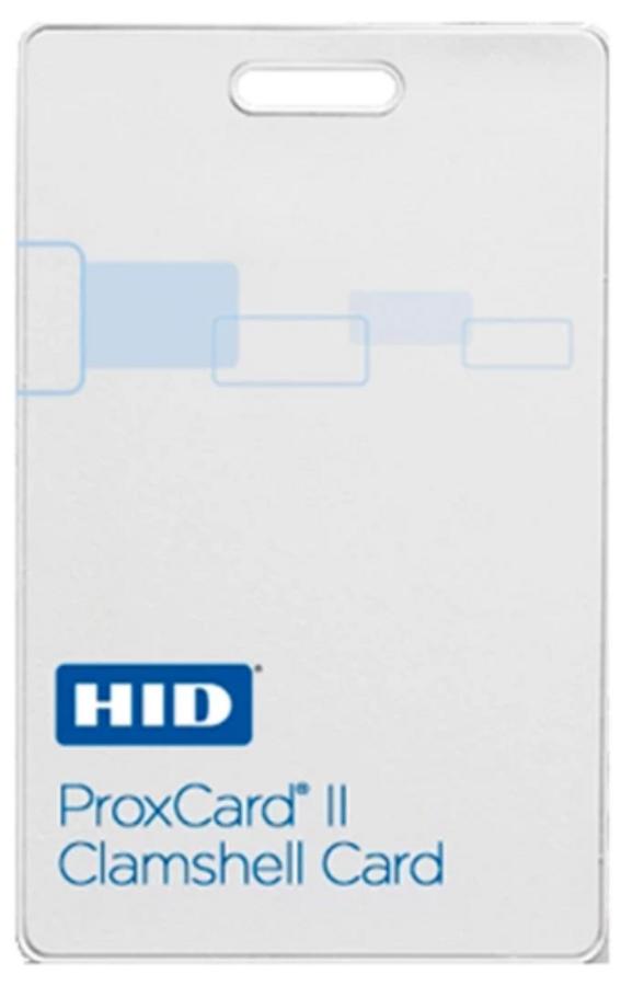 1326 HID Tarjeta de Acceso Proximidad CLAMSHELL ProxCard II