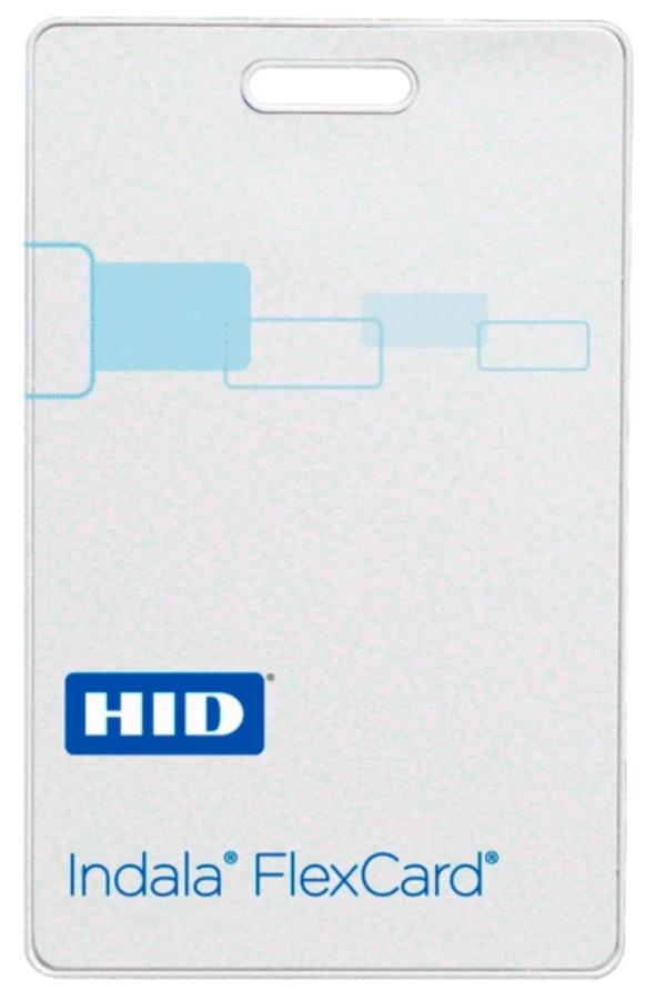 FPCRD-NCSCW-0000 Tarjeta HID Indala FlexCard CLAMSHELL sin contacto Sin Logo No Programada No Imprimible