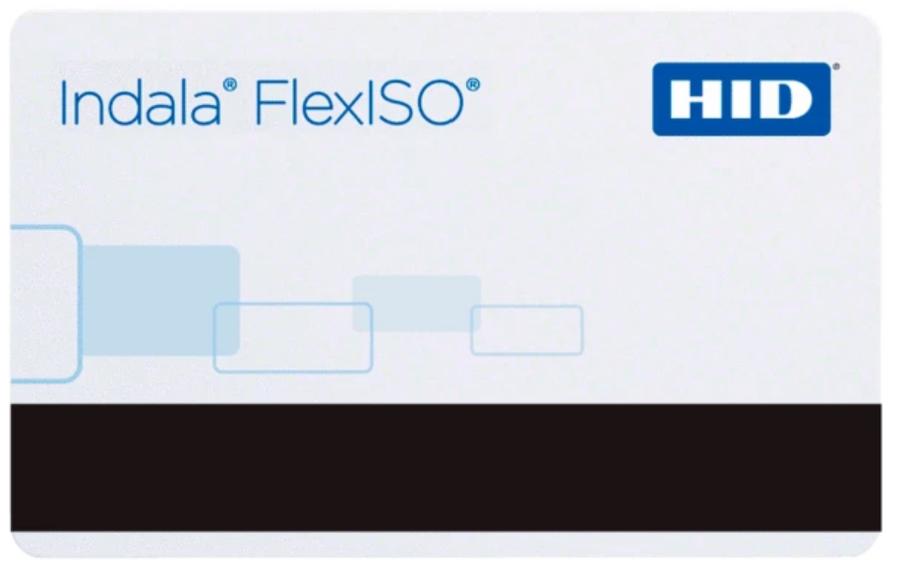 FPISO-SSSCNG-0000 HID Tarjeta Indala FlexISO 30 Programada Con Banda Magnetica