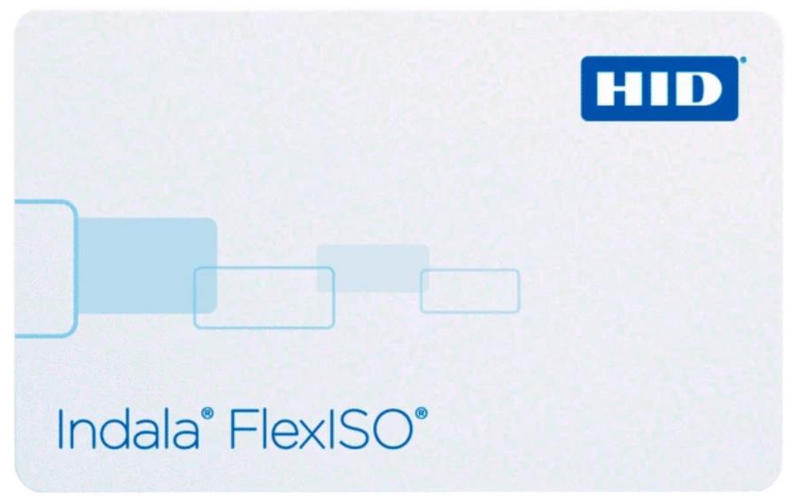 FPIXT-NSSCNA-0000 HID Tarjeta Indala FlexISO XT Sin Banda Magnetica