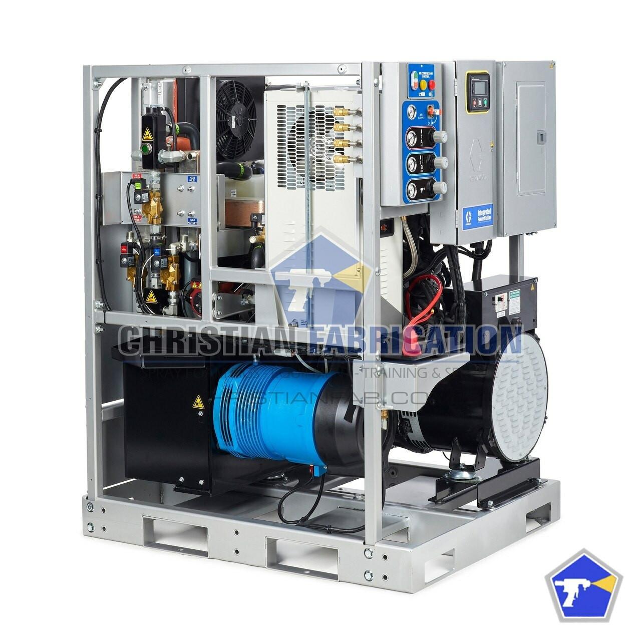 Graco Turnkey Integrated Powerstation E-30 Pkg, 35CFM