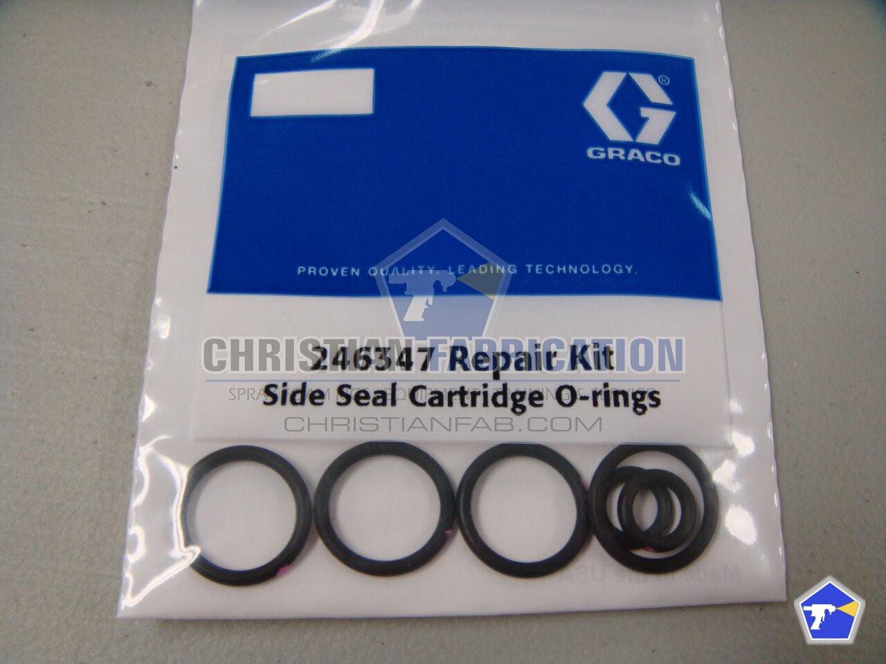 Graco Fusion AP Gun Side Seal O-Rings 248128