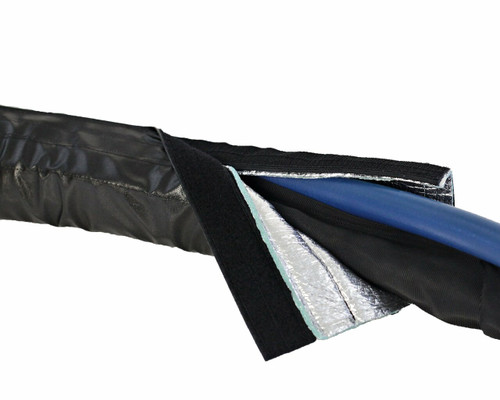SIDEWINDER INSULATED SLEEVE - 50' w/ Radiant Liner & end straps