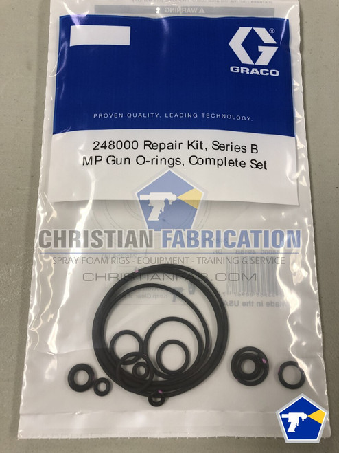 Graco Fusion MP O-ring kit 248000