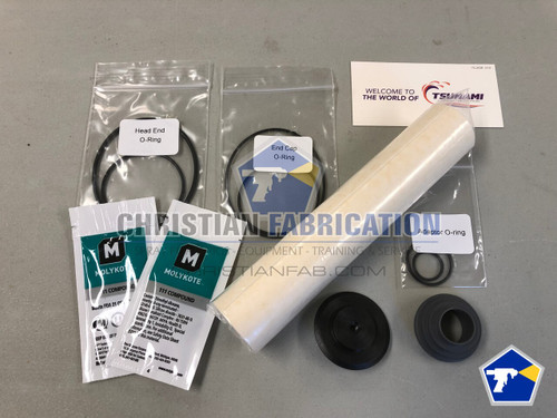 Tsunami oil coalescing filter service kit