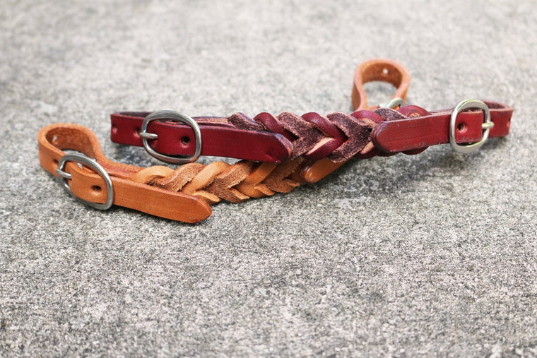 Leather Curb Strap for Western Headstall