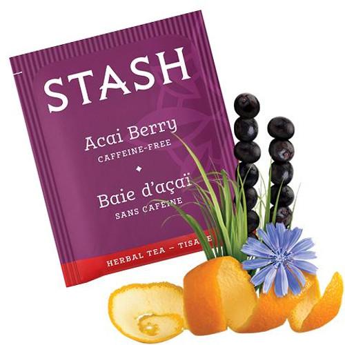 Stash Acai Berry Herbal Tea bags