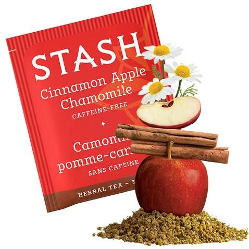 Stash Cinnamon Apple Chamomile Herbal Tea Bags