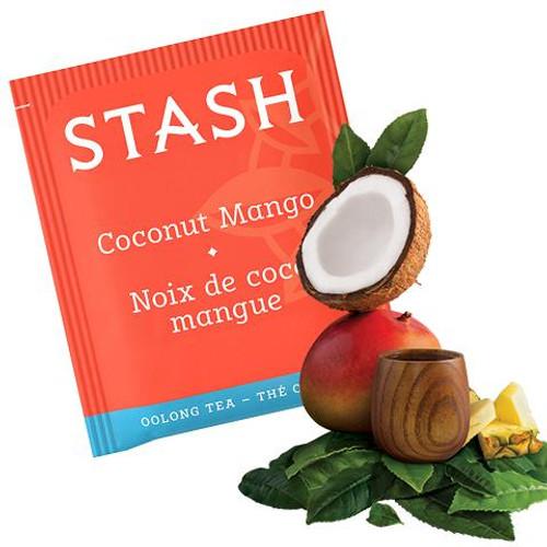 Stash Coconut Mango Oolong Tea Bags