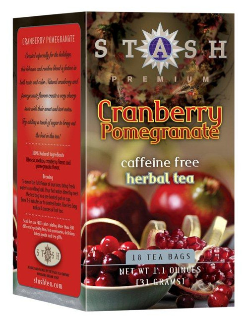 stash cranberry pomegranate teabags