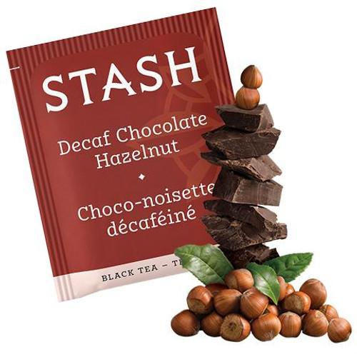Stash Decaf Chocolate Hazelnut Tea Bags