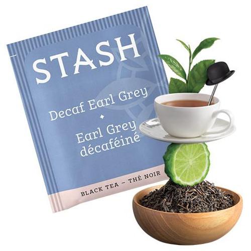 Stash Decaf Earl Grey Black Tea