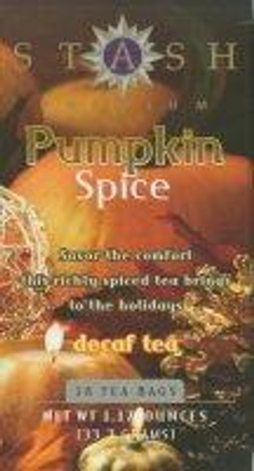 stash decaf pumpkin spice teabags